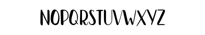 Bradley-NormalNormal Font LOWERCASE