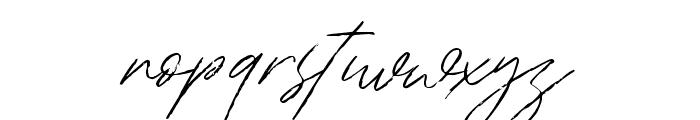 Bradley Signature Regular Font LOWERCASE
