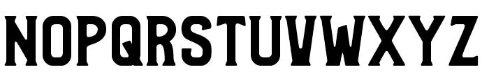 Bradley Solid Font UPPERCASE