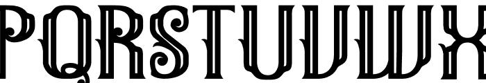 Brainster Outline Font UPPERCASE