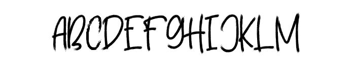 Brainstorm Font UPPERCASE