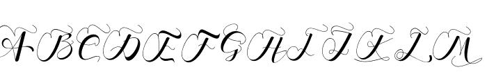 Branch Monogram Font UPPERCASE