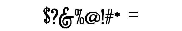 Brandalsalternate Font OTHER CHARS