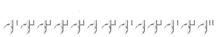 Brandleyinserttwo Font UPPERCASE