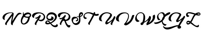Brandon Font UPPERCASE