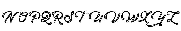 BrandonDeco Font UPPERCASE