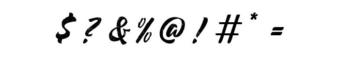 BrandonRough Font OTHER CHARS