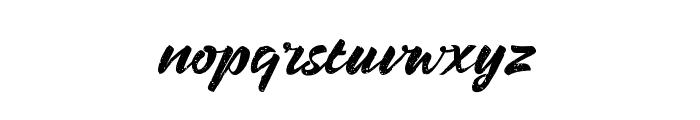BrandonRough Font LOWERCASE