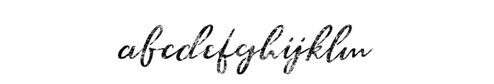 BraveYouth-Halftone Font LOWERCASE
