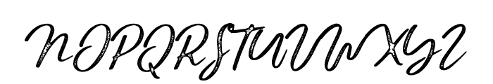 BraveYouth-Rust Font UPPERCASE
