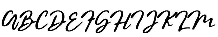 BraveYouth-Stamp Font UPPERCASE