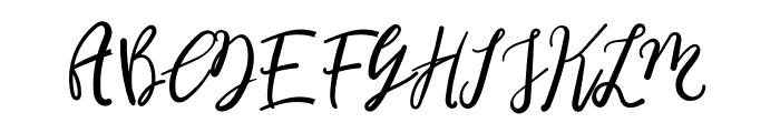 Breadlunch Font UPPERCASE