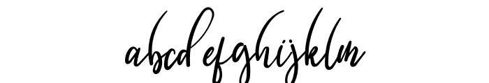 Breadlunch Font LOWERCASE