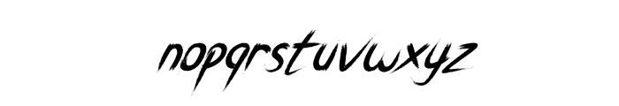 Breathe Karma Italic Regular Font LOWERCASE