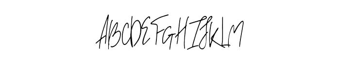 Breathe - regular Regular Font UPPERCASE