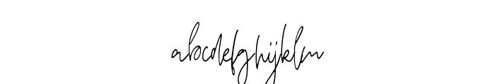 Breathe - regular Regular Font LOWERCASE