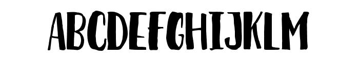 Breathe Font UPPERCASE