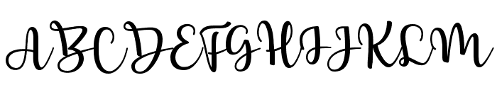 Breetty Font UPPERCASE