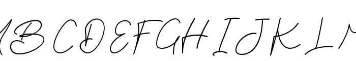 Brian Strait Font UPPERCASE