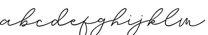 Brian Strait Font LOWERCASE