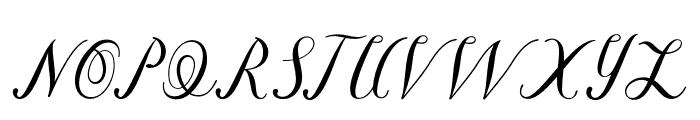 Briantone Font UPPERCASE
