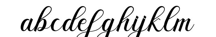Briantone Font LOWERCASE