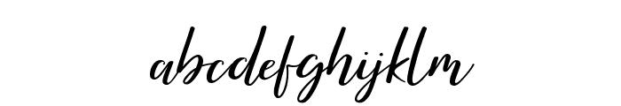 Brightish Font LOWERCASE