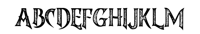 Brighton-Rough Font UPPERCASE