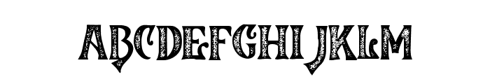 Brighton-Rough Font LOWERCASE