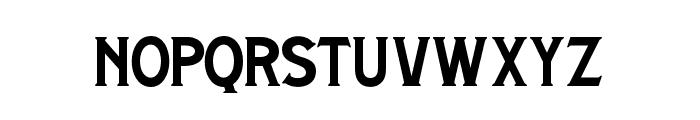 BrightonSpring-Regular Font LOWERCASE