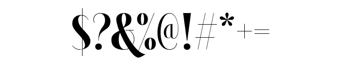 Brioche-Black Font OTHER CHARS