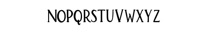 Brioche Bold Font UPPERCASE