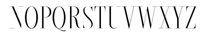 Brioche-Light Font UPPERCASE