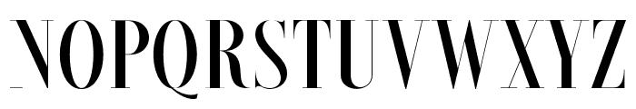 Brioche-SemiBold Font UPPERCASE