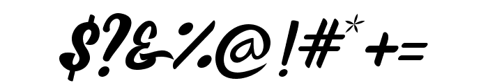 Brioche Font OTHER CHARS