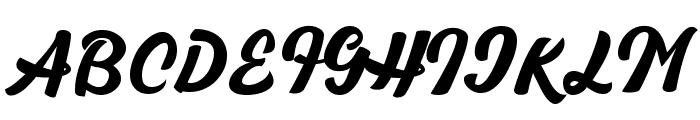 Brioche Font UPPERCASE