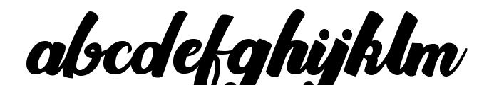 Brioche Font LOWERCASE