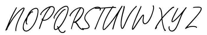 Bromrose Sands-Regular Font UPPERCASE