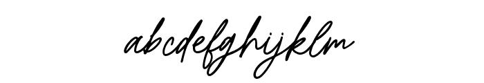 Bromrose Sands-Regular Font LOWERCASE