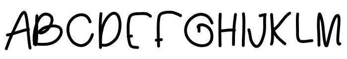 Brooks Font UPPERCASE