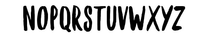Brownie-Helper Font UPPERCASE