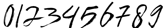 Brownight-Italic Font OTHER CHARS