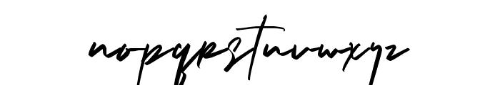 Brushelly Font LOWERCASE
