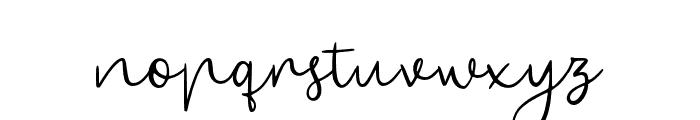 BryanKimberly-Regular Font LOWERCASE