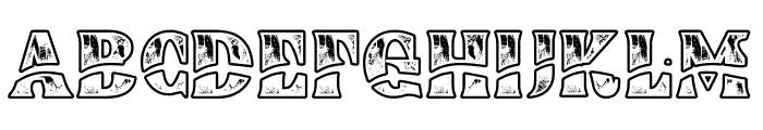 Buadaze Font UPPERCASE