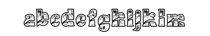 Buadaze Font LOWERCASE