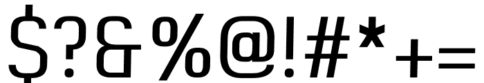 Buddy regular Font OTHER CHARS