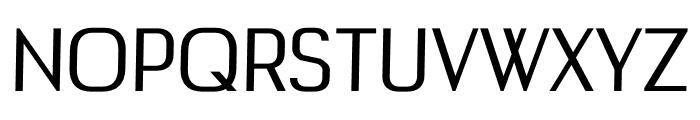 Buddy regular Font UPPERCASE