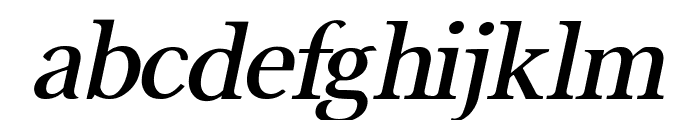 Buitenzorg Bold Italic Font LOWERCASE