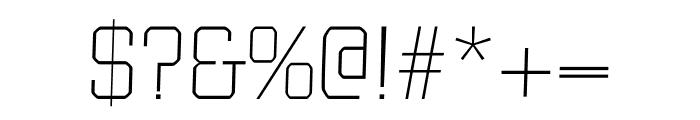 Bulk regular Font OTHER CHARS